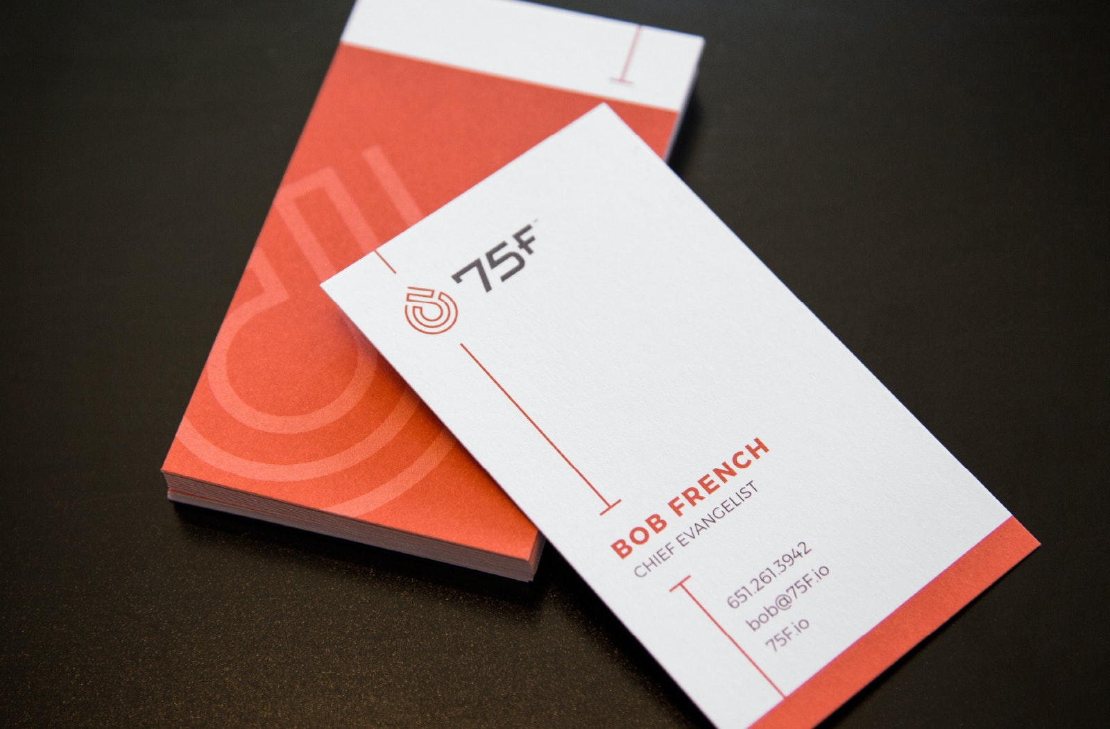 75 F businesscards A