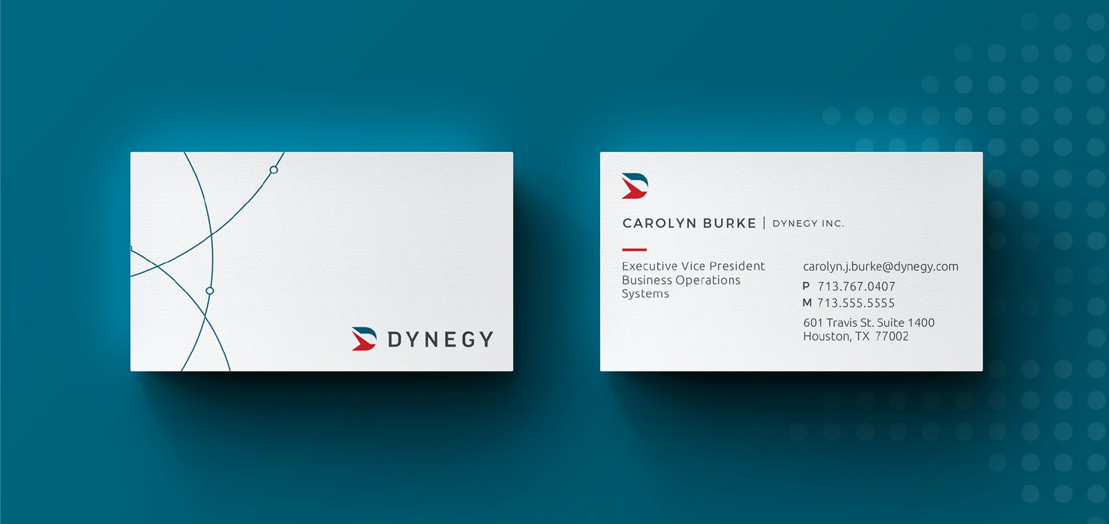 Dynegy Business Cards
