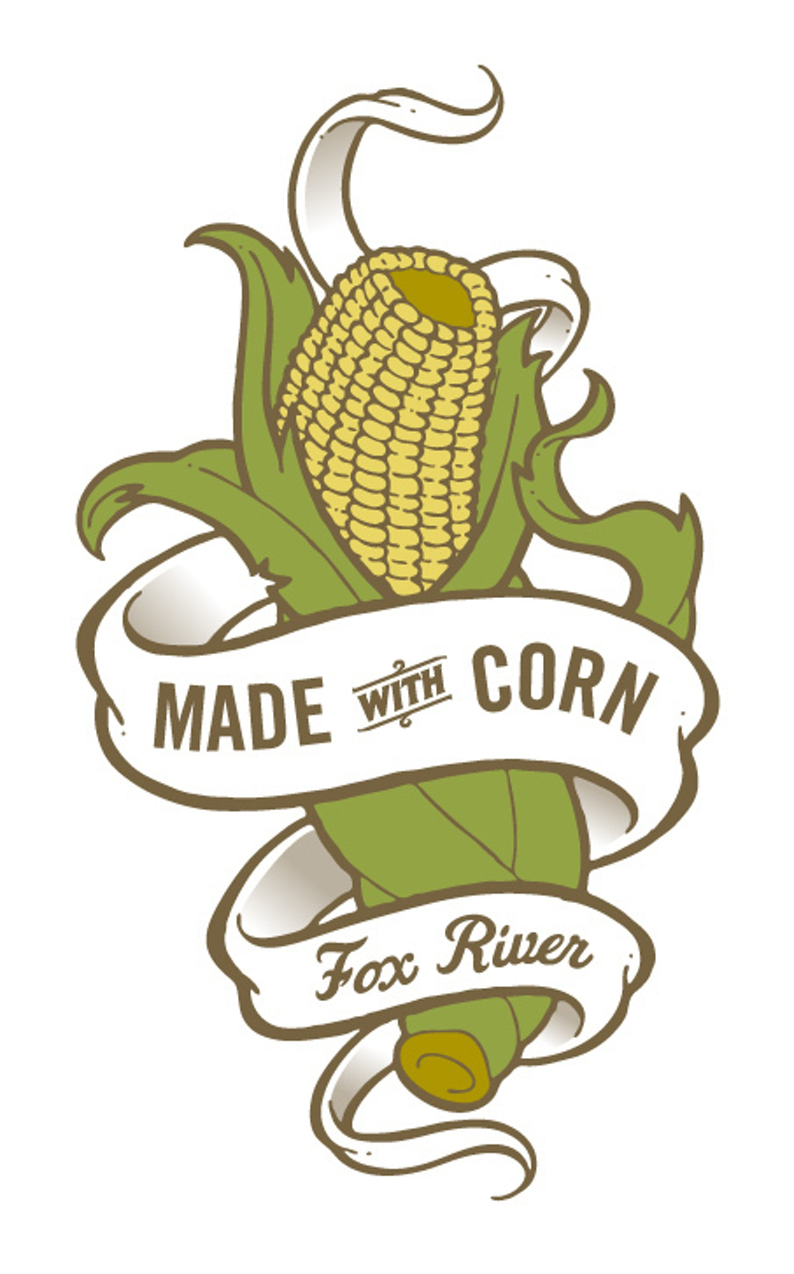 Fox River Corn logo A
