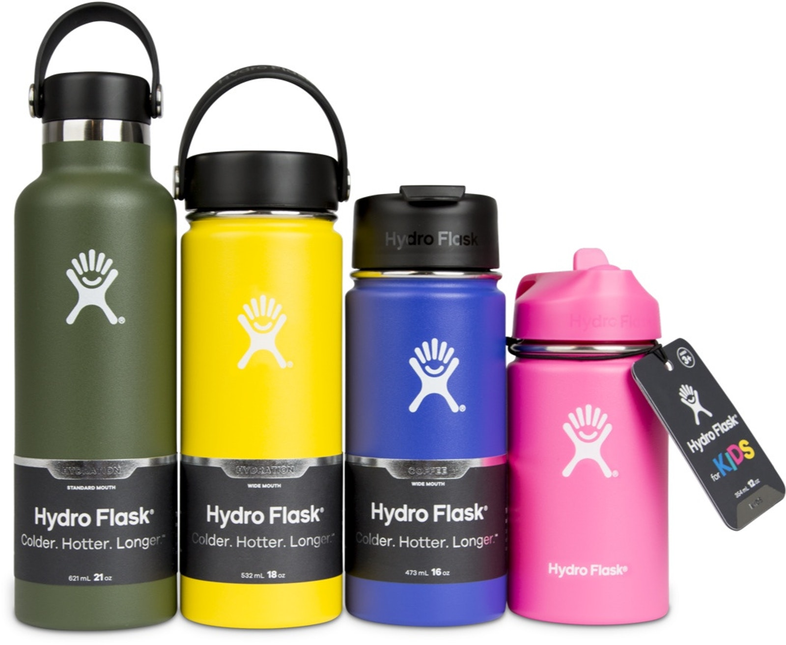 CAP Hydro Flask Label Four A