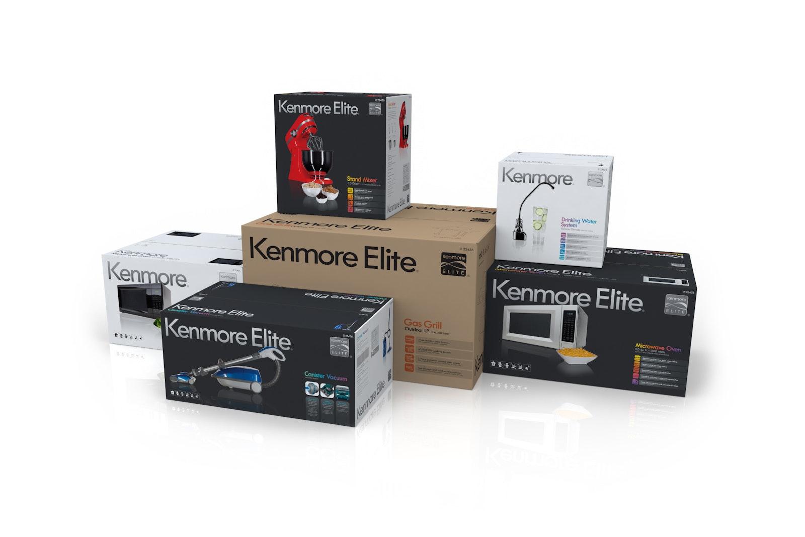 Kenmore Packaging all B