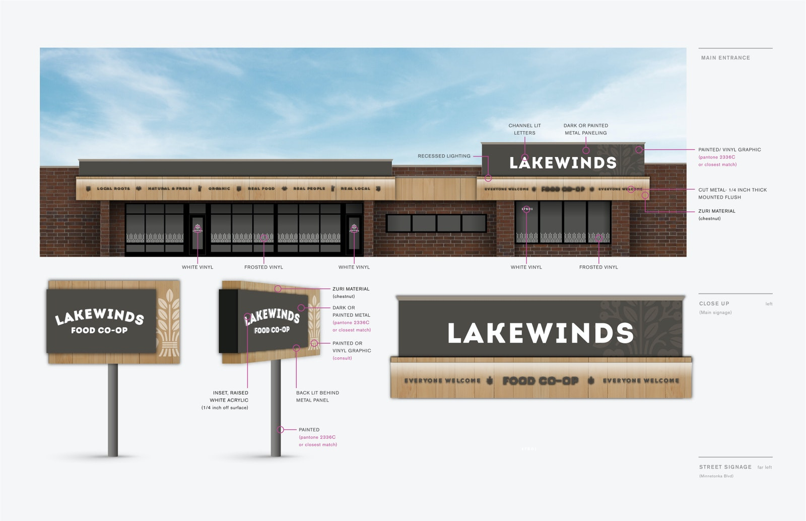 Lakewinds Sign D