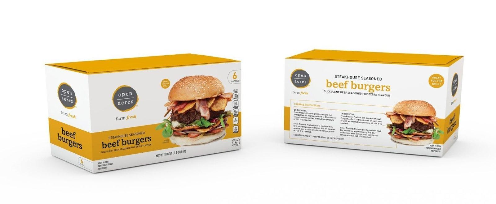 Open Acres Burgers