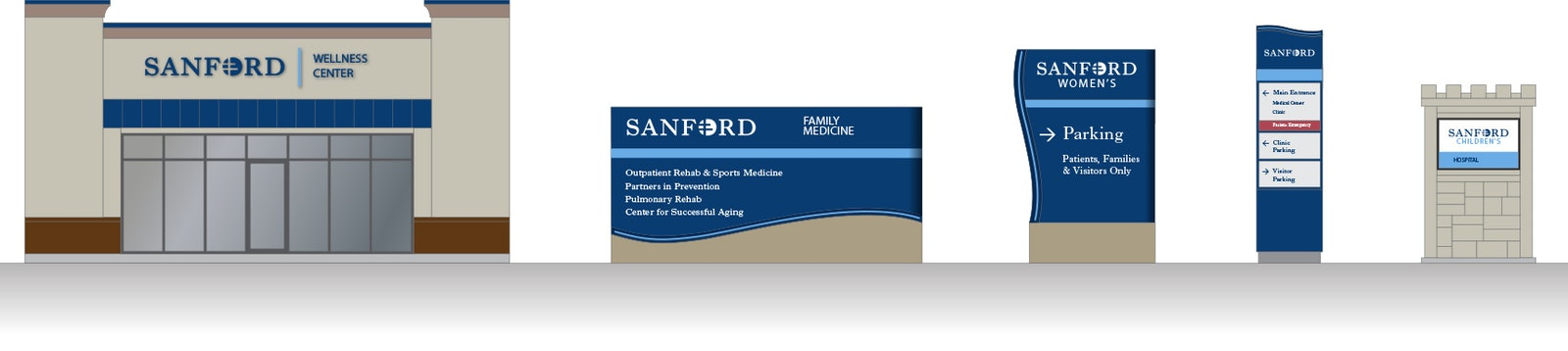 Sandford signage