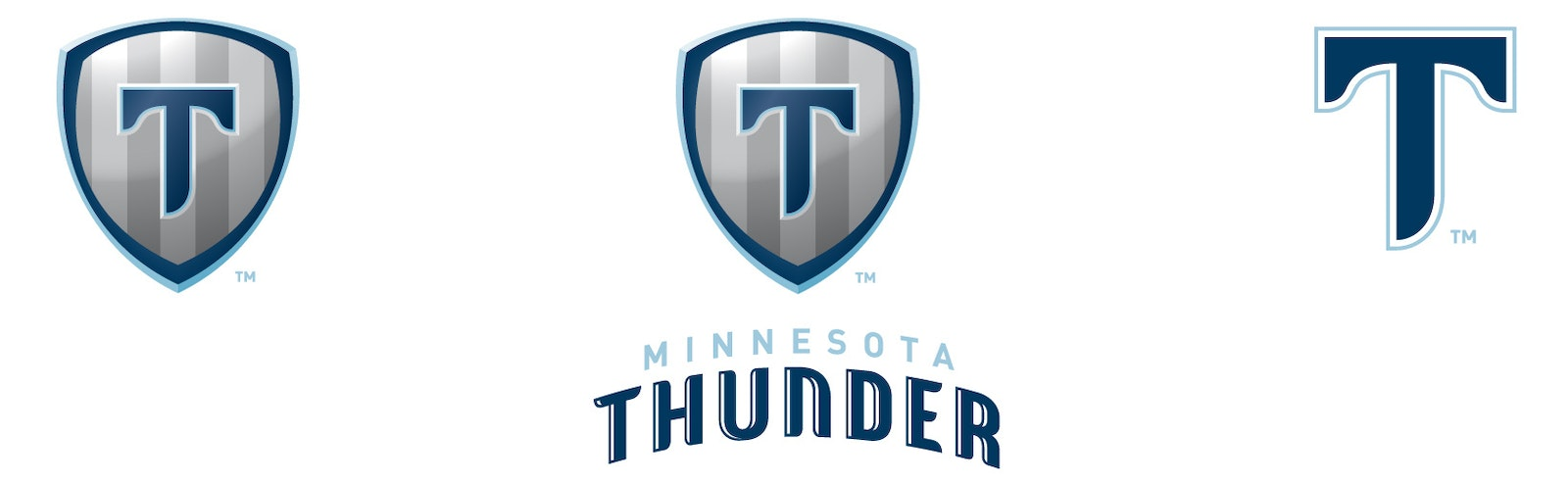 Thunder logo three