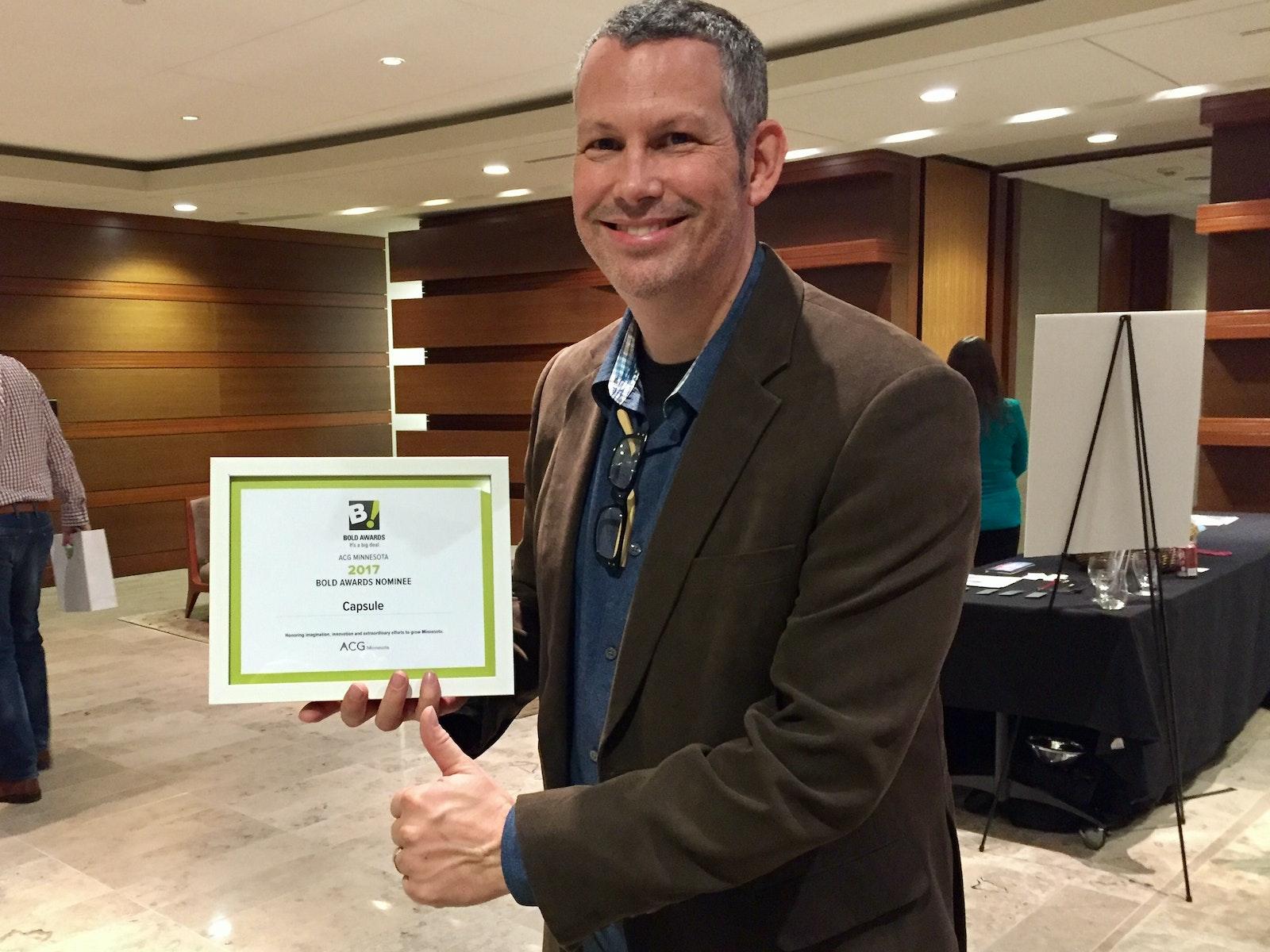 Capsule BOLD Award