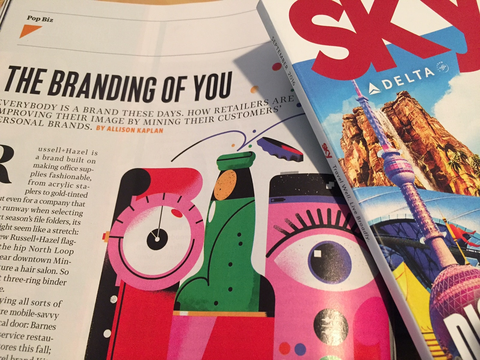 Po B Delta Sky Magazine